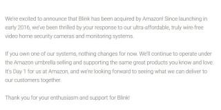 Website von Blink