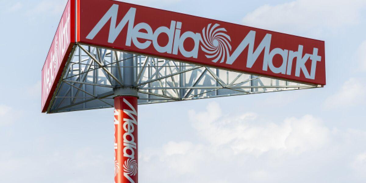 Media Markt Schild
