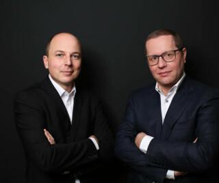 Hansjörg Rampl und Tim Schmid