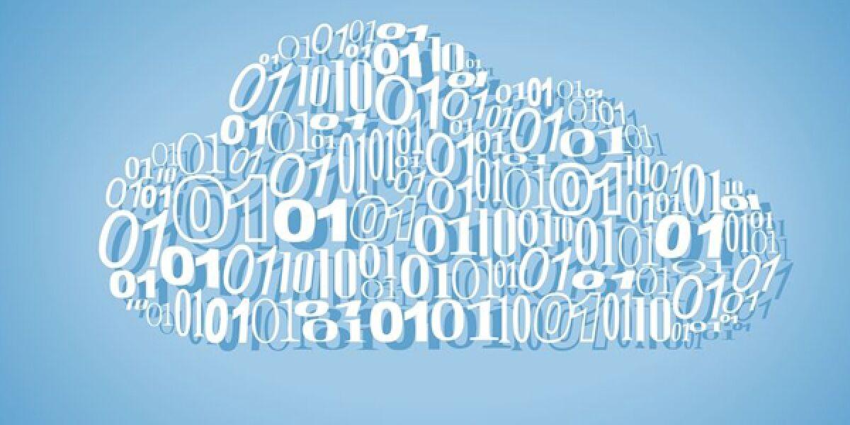 Wolke mit Code