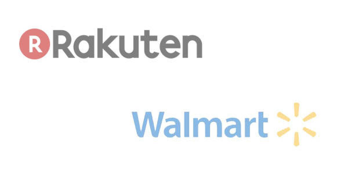 Logo von Rakuten und Walmart