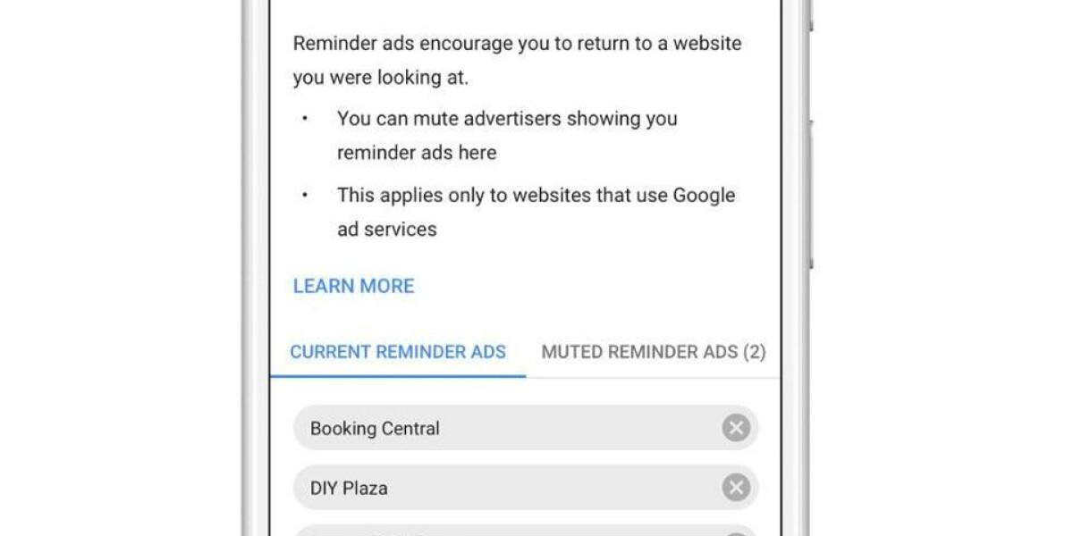 Google Reminder Ads