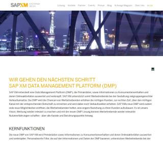 SAP XM kündigt DMP an