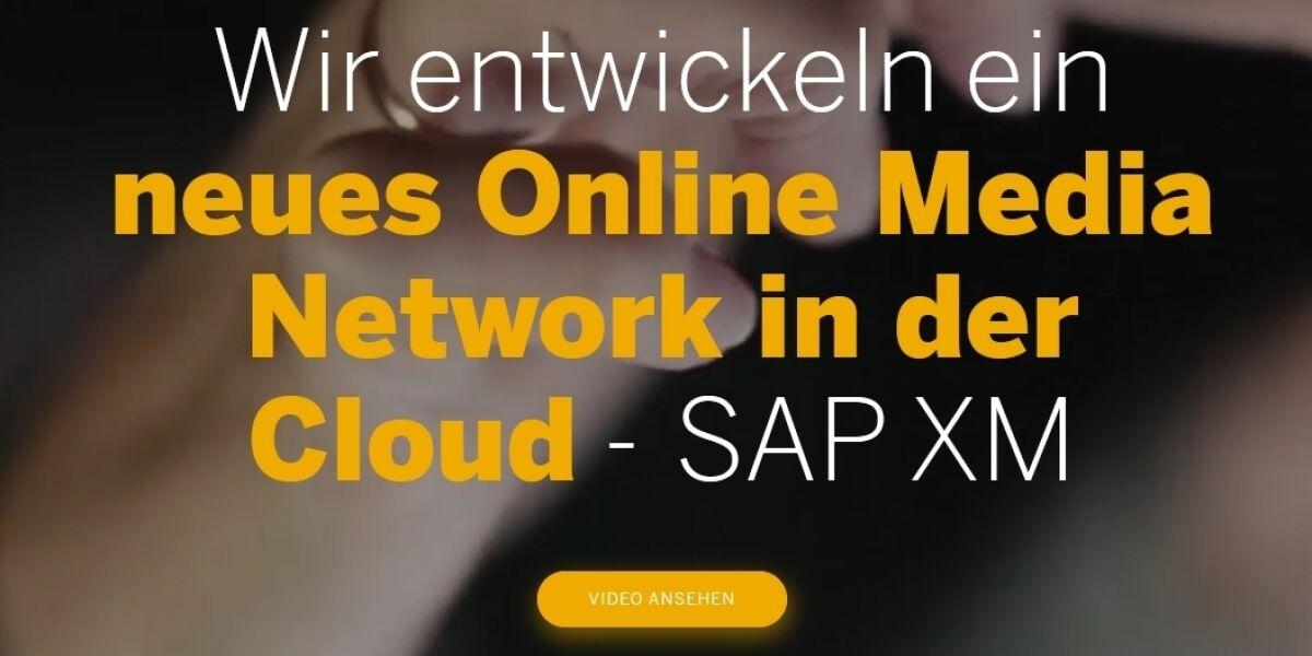 SAP XM als neues Online Media Network