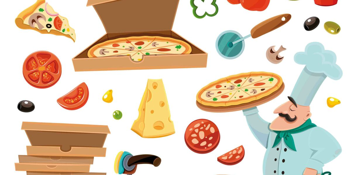 Pizzabäcker pizza-zutaten pizza as a service saas paas everthing as a service