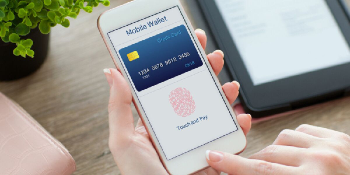 Mobile Payment mit Fingerabdruck