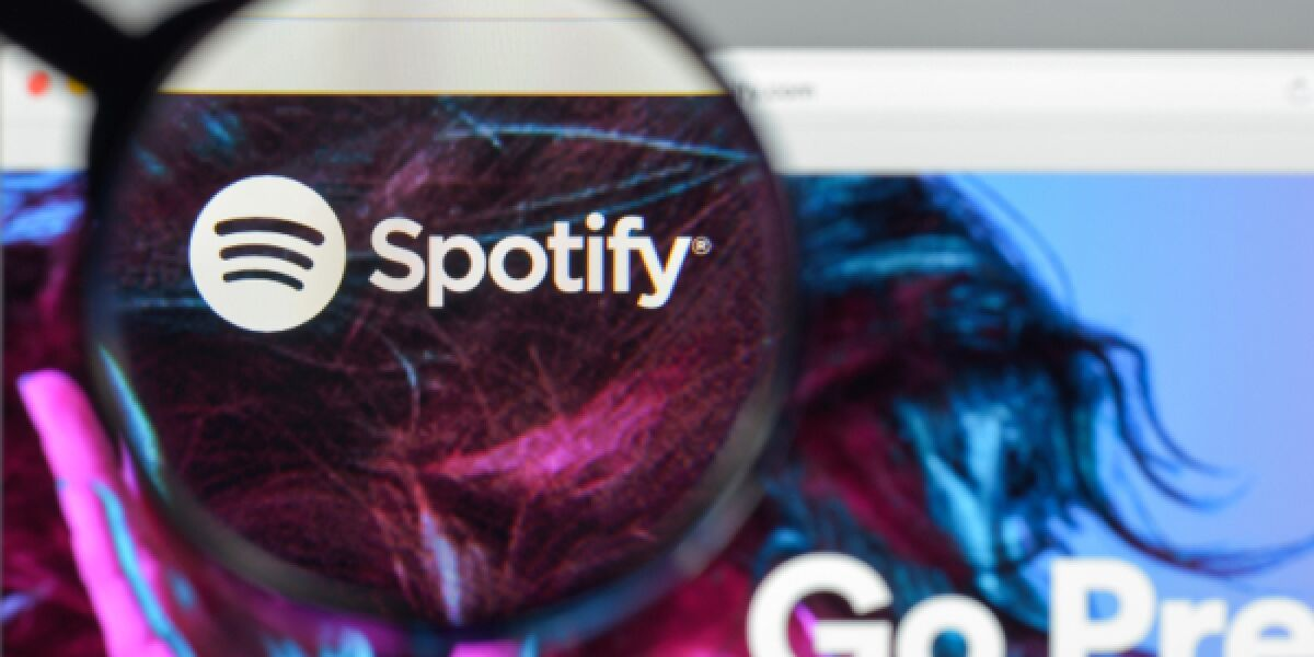 Spotify Website