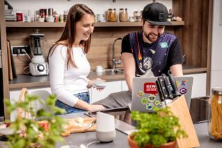 Kochen mit der Rewe-Sprachassistentin Caro