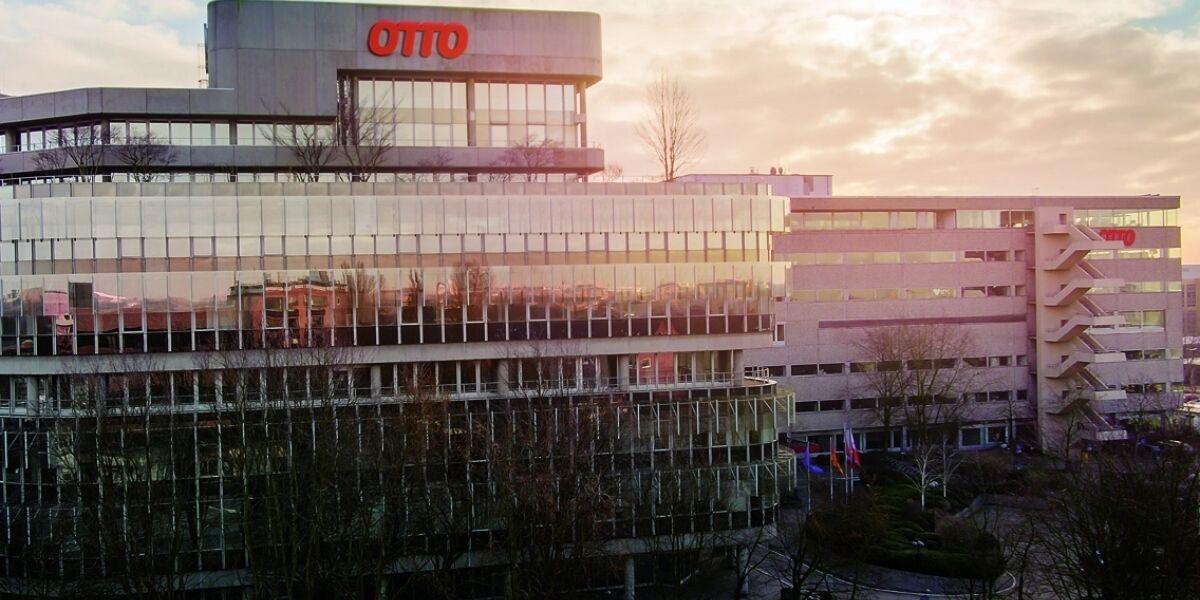 Blick auf Otto Campus in Hamburg