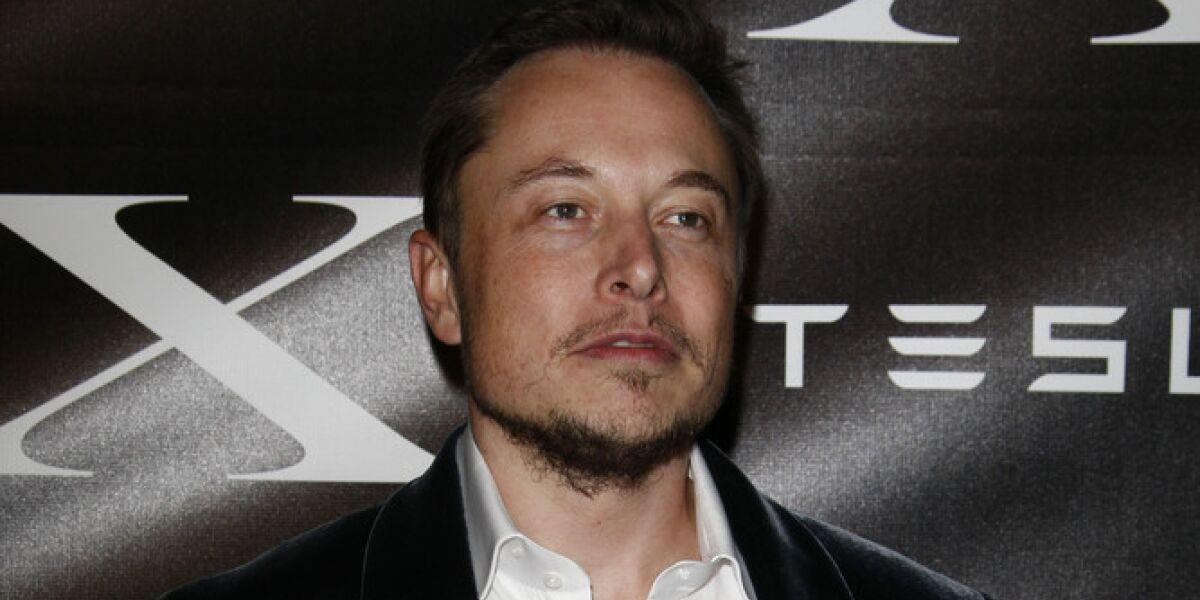 Elon Musk, CEO von Tesla