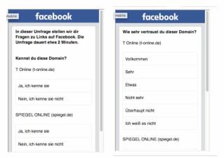 Facebook Befragung