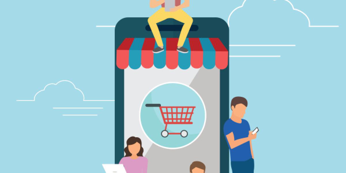 Menschen mit Smartphone und laptop in der Hand