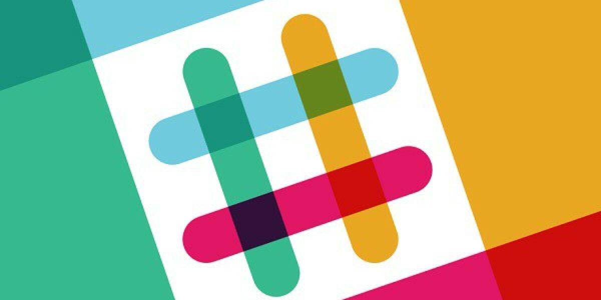 Logo von Slack