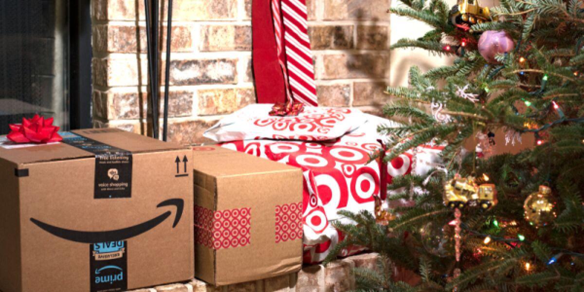 Amazon Weihnachtspaket
