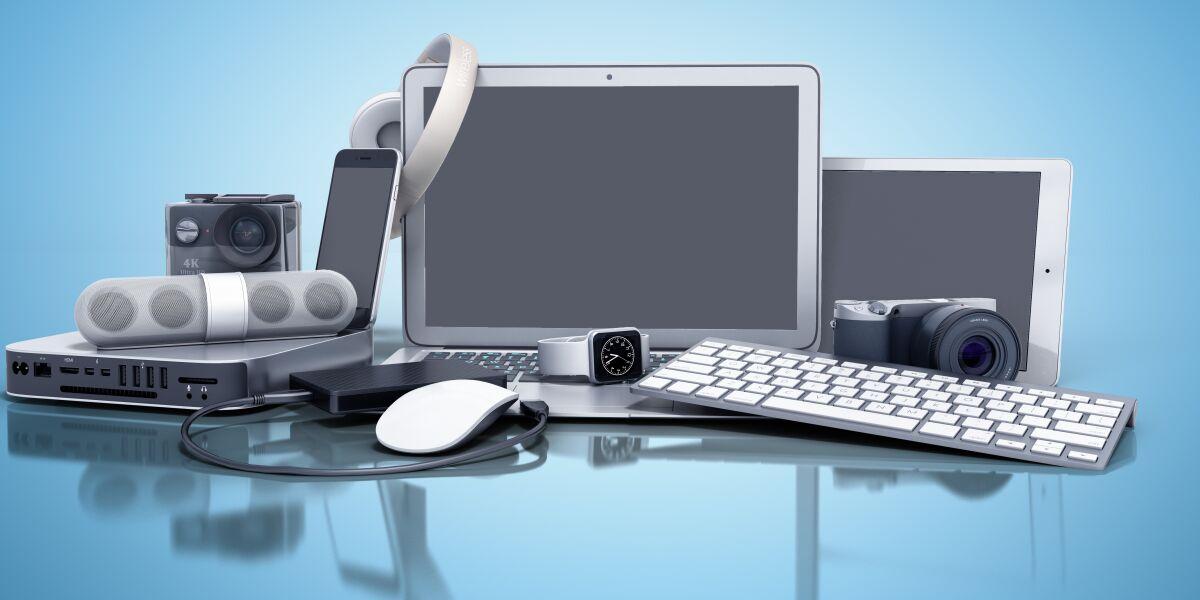 Laptop, Computer, Maus