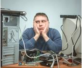 Digitalexperte am Werk