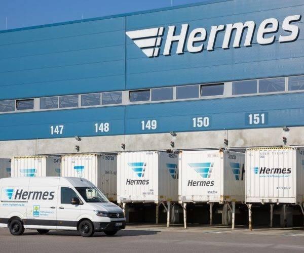 Hermes Eröffnet Neues Logistikzentrum In Hamburg
