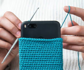 Stricken-Smartphone