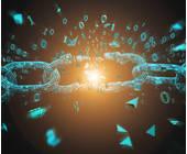 Zerbrochene Blockchain