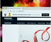 Website von Amazon