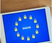 DSGVO auf dem Tablet