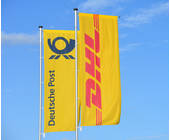Fahne der Deutschen Post
