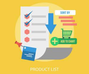Produktlisten