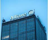 Allianz Logo auf einem Gebäude