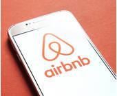 Airbnb auf dem Smartphone