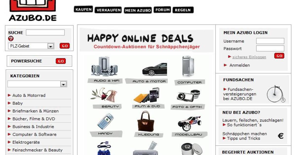 Auktionsplattform Im Internet
