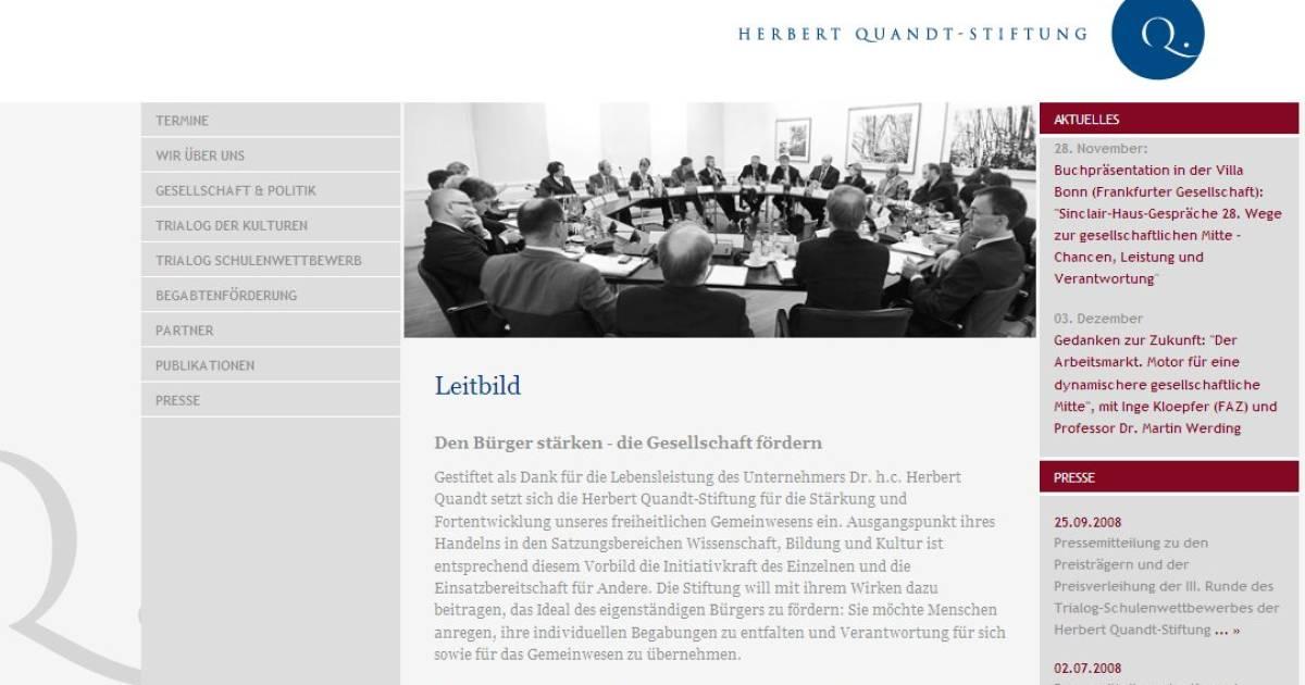 Herbert Quandt Stiftung