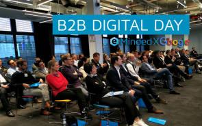SMART TECH beim ersten B2B Digital Day von eMinded bei Google