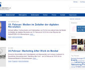 Marketing-Netzwerk mit neuer Wordpress-Website