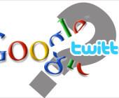 Google mit Twitter in Gesprächen