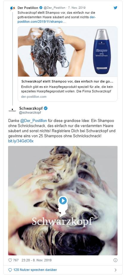 Schwarzkopf Shampoo Ohne Schnickschnack