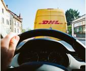 DHL Lieferwagen
