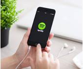 Spotify auf dem Smartphone