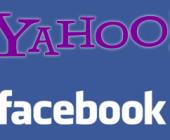 Yahoo verknüpft sich mit Facebook