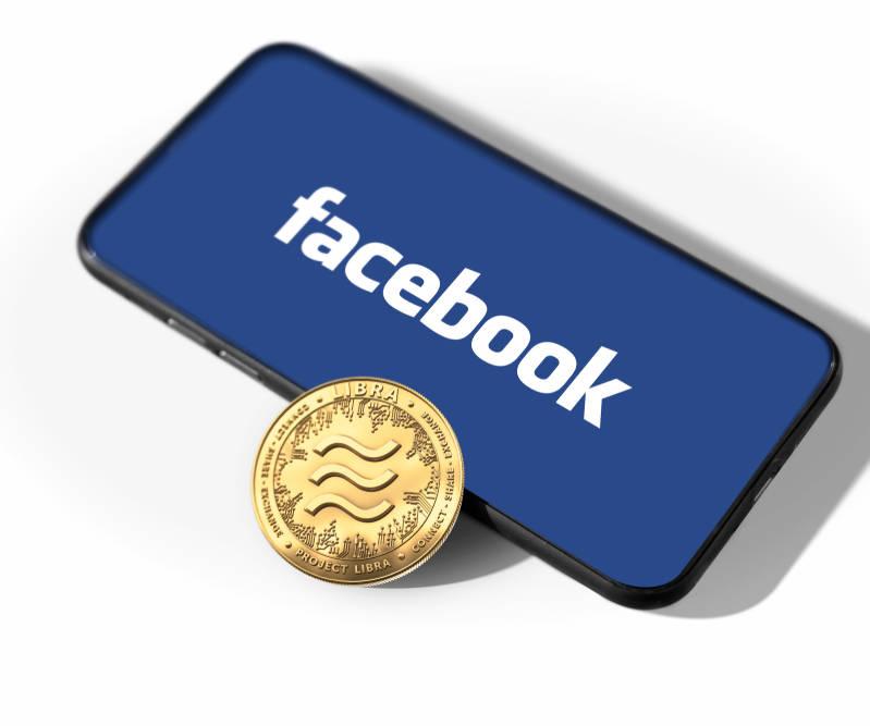 Computer Facebook-Digitalwährung Libra mit geändertem Konzept Genf