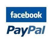 Facebook integriert Paypal als Bezahlmethode