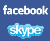 Facebook integriert Skype stärker