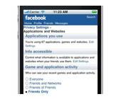 Mehr Einstellungen für Facebook auf dem Handy