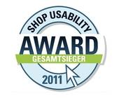 Shop Usability Award 2011