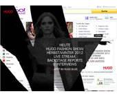 Hugo Boss wirbt auf der Yahoo-Startseite