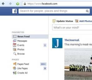 facebook suchfunktion