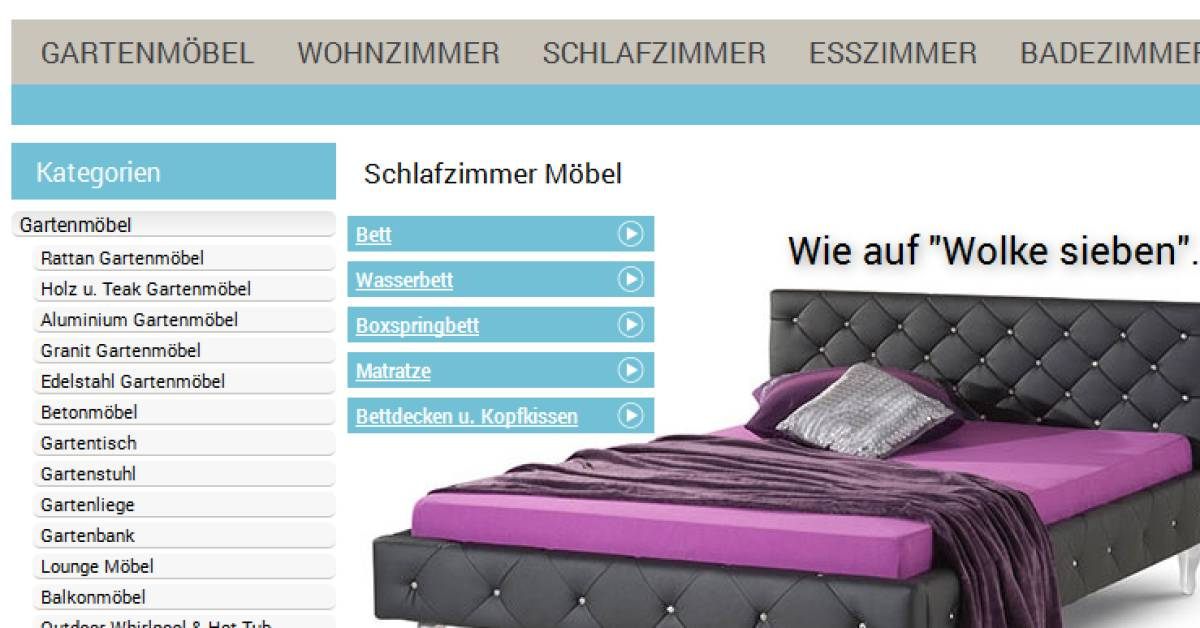 online m belmarke aus der insolvenz gekauft. Black Bedroom Furniture Sets. Home Design Ideas