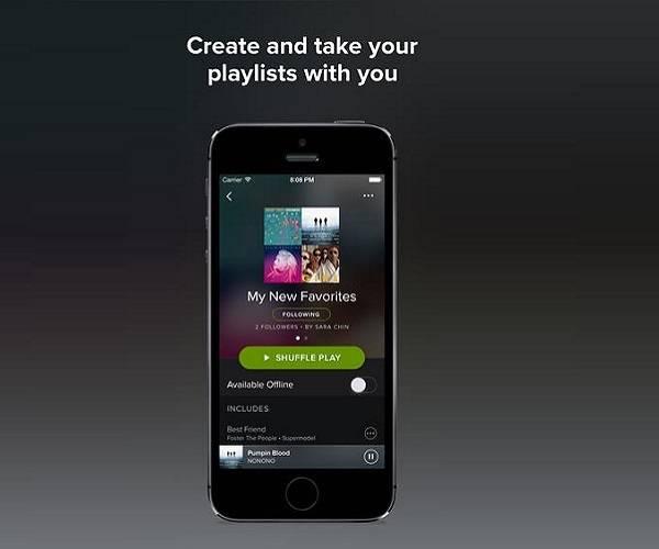 Spotify offline musik hören