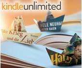 Kindle Unlimited, Amazons Flatrate für E-Books, ist nun auch in Deutschland verfügbar. Mehr als 720.000 Bücher versprechen unbegrenztes Lesevergnügen für monatlich 9,99 Euro.