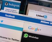 Verschiedene Social-Media Plattformen