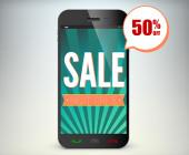 Rabatt Smartphone App Sale